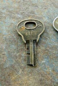 Antique Corbin Key BLE3 Trunk? Wardrobe? Corbin Cabinet Lock Co ...