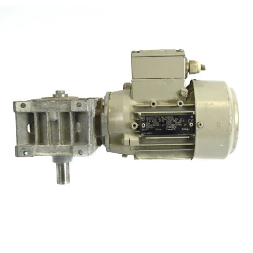 50Hz 0.21kW 60Hz Electric Motor w// SITI MU 40 D5 100//1 MEZ 7AA63M04 0.18kW
