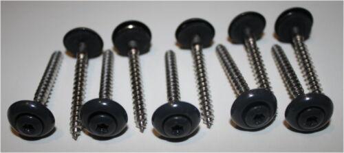Spenglerschrauben ANTHRAZIT 4,5x35 mm 25 Stück //A2-Edelstahl //Torx 20 //RAL7076