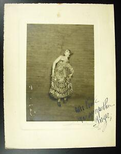 Henri-MANUALE-1874-1947-Fotografia-originale-firmata-dedicato-ballerina-Giugno
