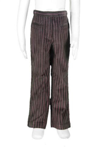 JACADI Girl/'s Arbre Mocha Pink Pinstriped Corduroy Pants Sz 6 Years NWT $56