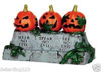 Lemax Spooky Town Evil Pumpkins - Item 44750 Nip