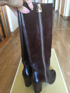 New Michael Kors Leather Boots