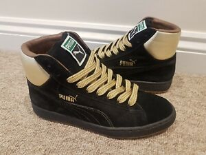 best service a27cc 23120 Details about PUMA Suede Mid Mita Sneakers States Basket Clyde OG Vintage  UK7.5 2003 Trainers