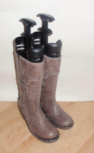 NEW Caterpillar womens leather mid calf biker boots size 4 EU 37