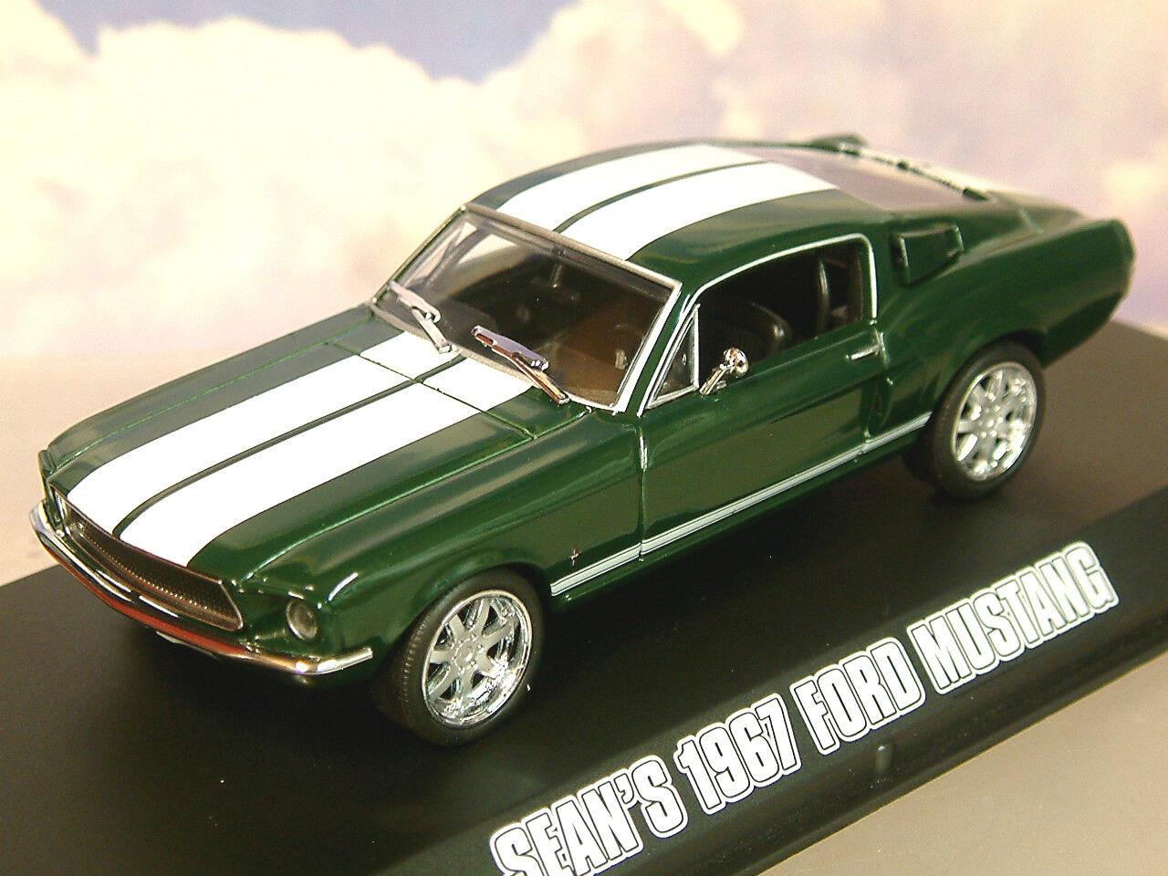 Greenlight diecast 1 43 seans 1967 ford mustang fast furious tokyo drift 86211