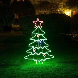 image is loading large led christmas tree rope light flashing neon