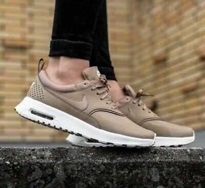 Womens Nike Air Max Thea Premium Trainers Shoes 'Desert Camo' Beige Tan | eBay