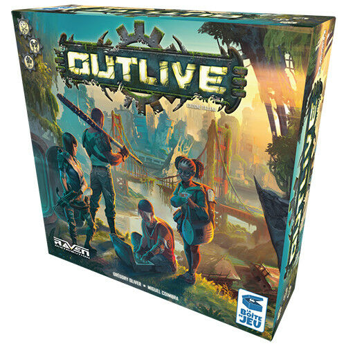 Survivre à (ITA) - Jeu de table Raven Distribution