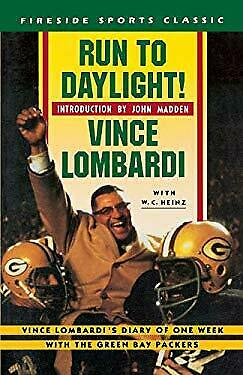 Run to Daylight! by Lombardi, Vince, Jr. -ExLibrary