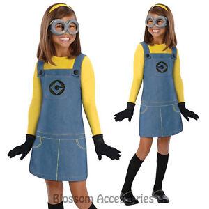 KIDS DELUXE Minion Minions Fancy Dress Despicable Me 2 School Book Fancy Dress