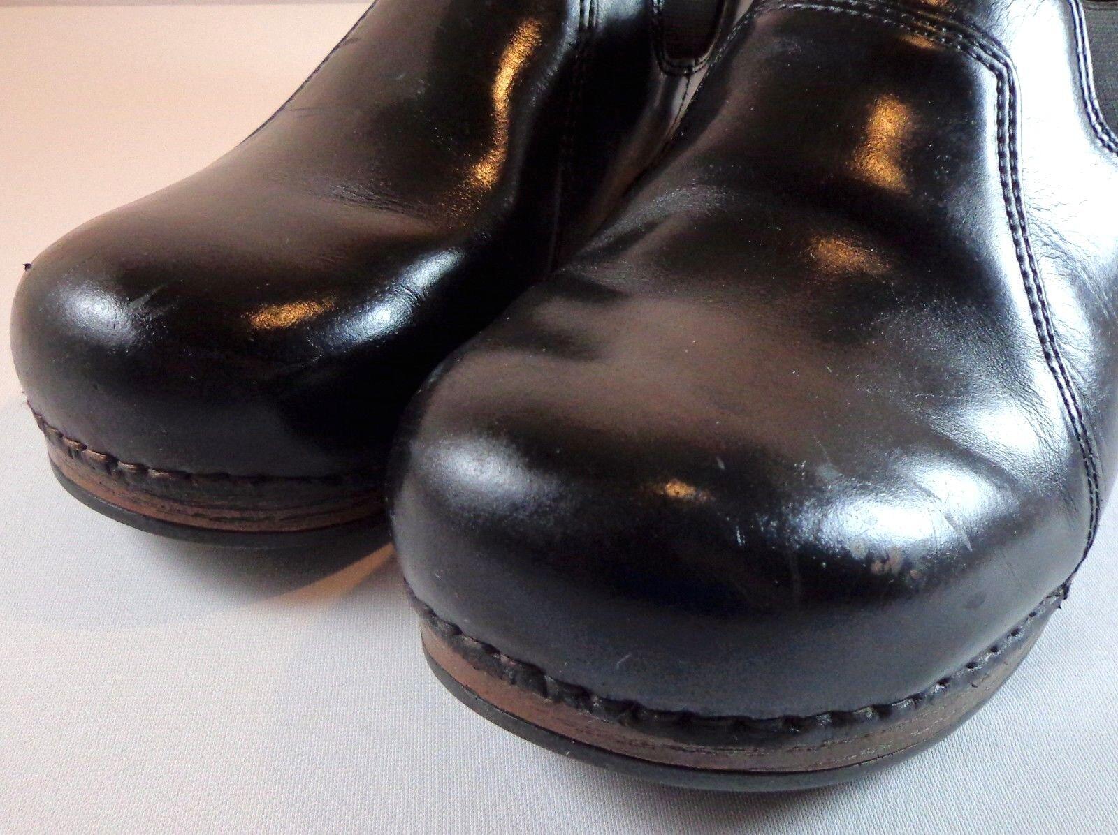 les les les femmes dansko xp feuillet de cuir noir chaussures taille 42 (us 11,5 - 12) 9dff06