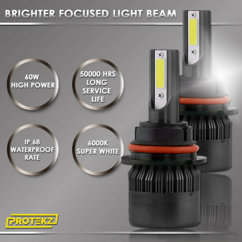 LED For Hyundai AZERA 2006-2007 Headlight Kit H7 6000K White CREE Bulbs Low Beam