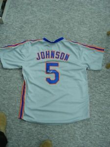 DAVEY-JOHNSON-NEW-YORK-METS-MANAGER-AUTHENTIC-AUTOGRAPH-JERSEY-SUPER