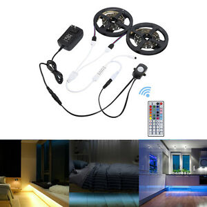 1 5m Flexible Rgb Led Strip Motion Activated Bed Light
