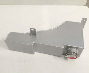 Aluminum Coolant Overflow Tank Bottle For Ford F250 F350 F450 1999-2005 Silver