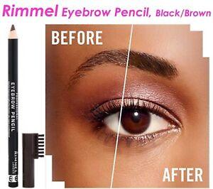Rimmel-London-Professional-Eyebrow-Pencil-Black-Brown-004-Sexy-Women-Hot-eyes