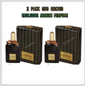 2 Pack OF Original New*Oud Orchid 100ml Unisex Perfume Best Selling Dubai Oud