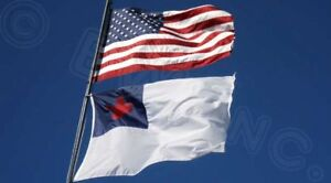 Wholesale-LOT-of-3-039-X-5-039-USA-AMERICAN-amp-Christian-Religious-Flag