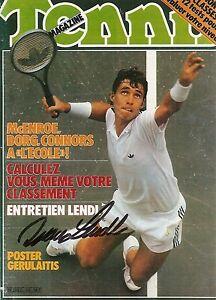 cheap for discount a1d2f b563a Image is loading Ivan-Lendl-HOF-Tennis-Magazine-Mag-5x7-Photo-