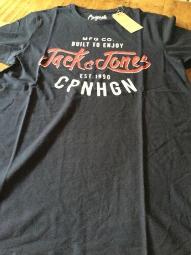 4 colours Jack and Jones slim fit new buffalo t shirt