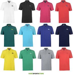 Lonsdale-Homme-Plain-Polo-en-coton-T-shirt-Taille-S-M-L-XL-2XL-3XL-4XL-casual-fashion