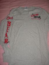 Chicago Bear-Sports Bar & Grill Gray Long Sleeve-T-Shirt-S