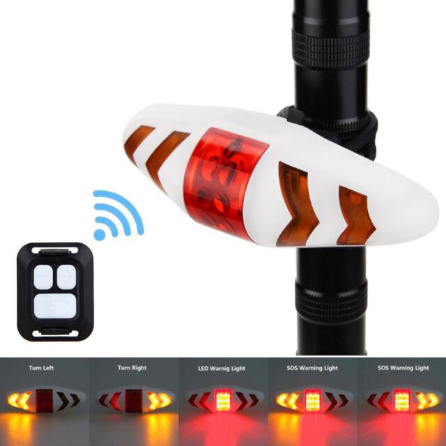 Meilan X5 Bicycle Rear Light Bike Light Turn Signal LED Beam USB Tail Light V2W5