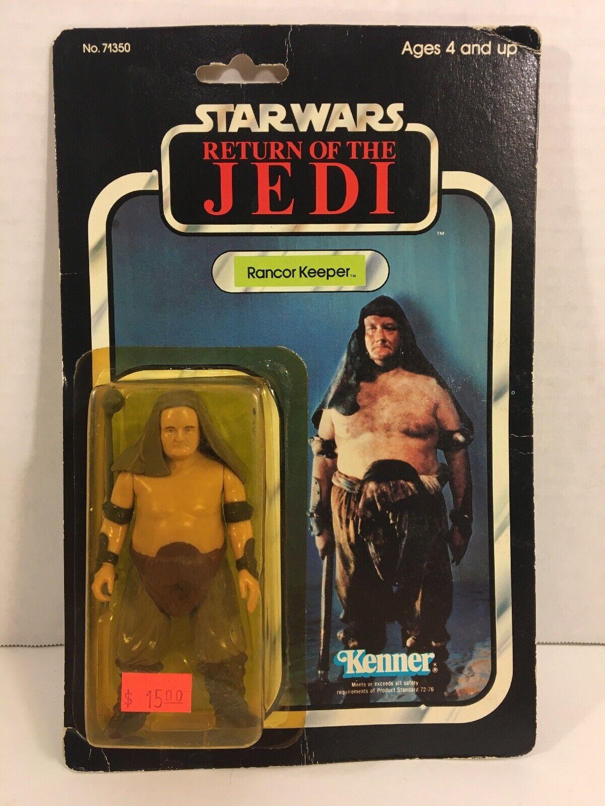 Rancor Keeper estrella guerras Return of the Jedi 77 Back Kenner SEALED MOC