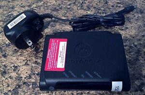 Motorola-DSL-Ethernet-Modem-Model-2210-02-1ATT-Style-MIPDSLA-Used