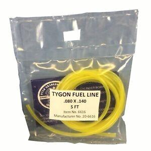 Neuf-Tygon-Jaune-Carburant-Ligne-Tuyau-080-034-Predecoupe-5FT-Polaris-Honda
