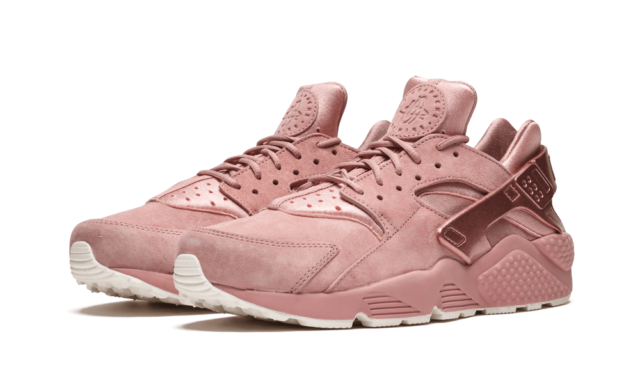 uk availability d2d05 e1c81 Nike Air Huarache Run Premium Running Shoes Rust Pink Sail 704830-601 Men's  NEW