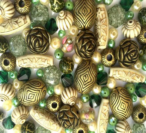 60g Jewellery Making Beads Necklace Bracelet Mixed Kits