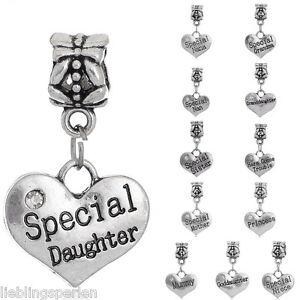 L-P-12-Mix-European-Spacer-Dangle-Perlen-Beads-Gravur-Worte-27x16mm