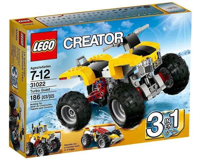 LEGO® Creator 31022 Turbo Quad NEU OVP NEW MISB NRFB