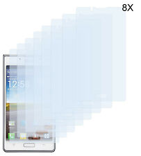 8 x Schutzfolie LG Optimus L7 P700 Matt Folie Antireflex Displayschutzfolie