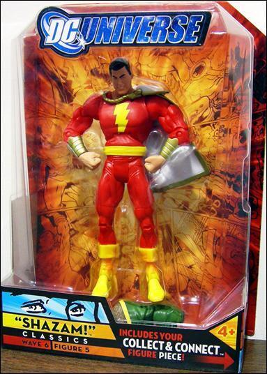 DC universe classics series  6 _ Shazam 6 in (environ 15.24 cm) Action Figure _ new _ Comme neuf en paquet _ construire Kalibak