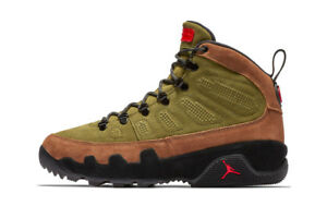 sports shoes fc255 b19d4 Details about 2018 Nike Air Jordan 9 IX Retro Boot Military Brown Green  size 11.5. AR4491-200