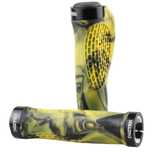 1 Pair MTB Bike Bicycle Grips Rubber Handlebar Grips 22.2mm High Quality