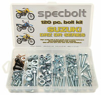 120pc Spec Bolt Kit Suzuki Drz Dr 80 125 200 250 400 650 V Storm Plastic Fenders