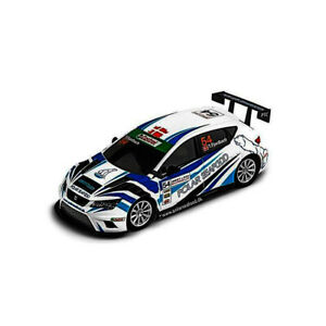 Coche-Ninco-50657-Seat-Leon-Polar-compatible-con-Scalextric-Slot-Car-1-32