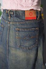 vintage 90s G.SUS sindustries denim skirt hipster festival