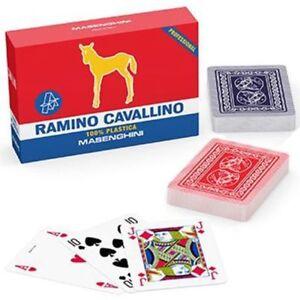 Carte-Da-Ramino-Professional-Cavallino-Oro-Masenghini-PS-07377