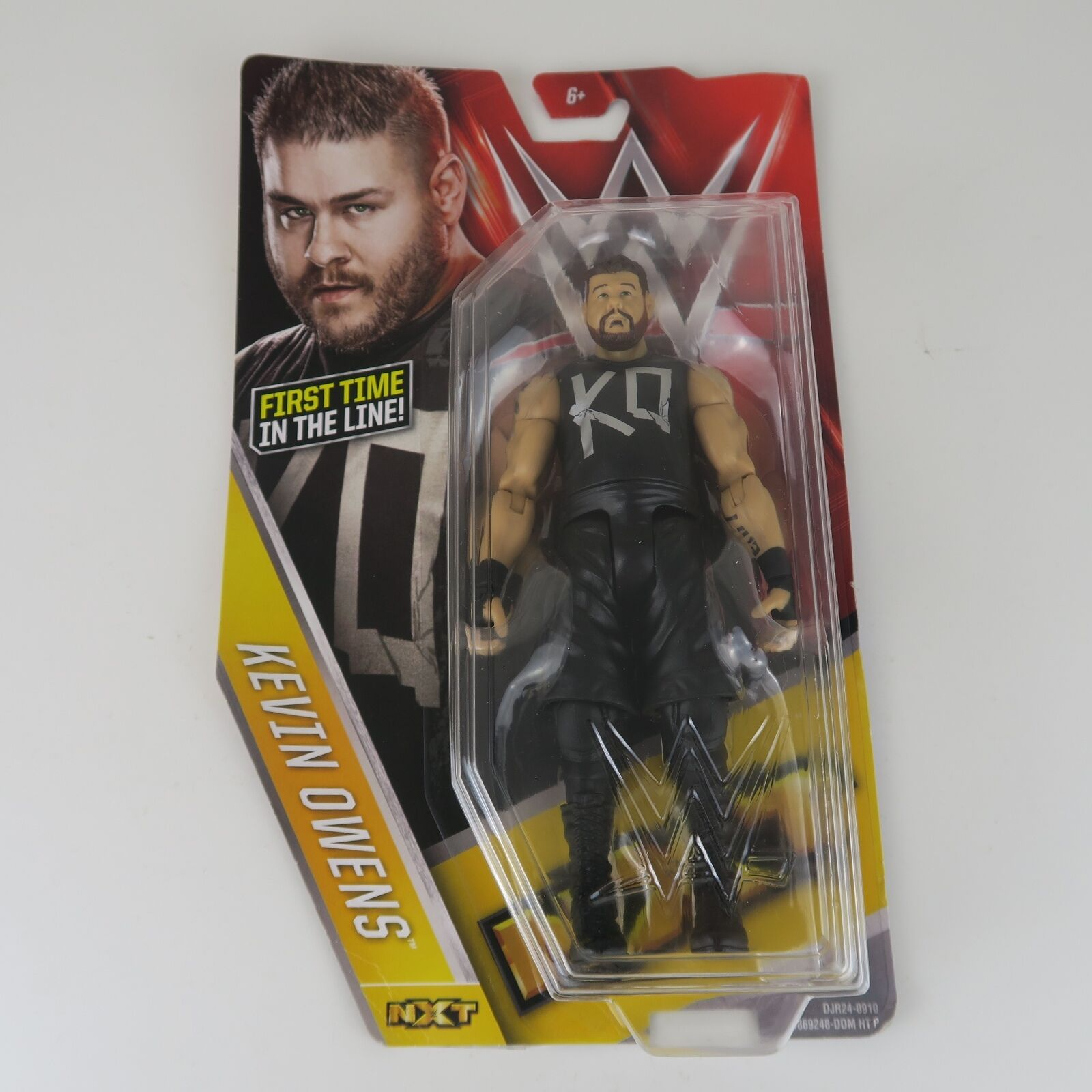 WWE Mattel Series 58 Kevin Owens Owens Owens First Time In The Line BNIB WWE NXT NEW SEALED 37fd20