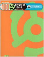 100 Rock & Roll Songs Sheet Music For French Horn Beatles, Elvis, Van Morrison