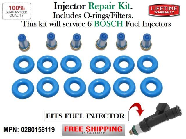 BOSCH FUEL INJECTOR 0280158119 2007-2010 CHRYSLER DODGE JEEP V6 3.3-3.8