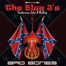 BLUE J's Bad Bones CD 2015 NEW superb British Neo Rockabilly feat. John O'Malley