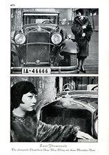 Die chinesische Tänzereín Anna May Wong mit ihrem Mercedes-Benz  c.1930