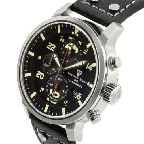 Tachuy Vogt SA A15 Crusader Men's Swiss Chronograph Men's Watch