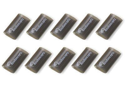 """KnuKonceptz Black 3/4"""" 4 Gauge 3:1 Heat Shrink Tubing w/ Adhesive Glue 10 Pack"""